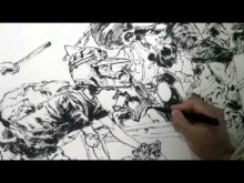 Petite leçon de dessin par Kim Jung Gi