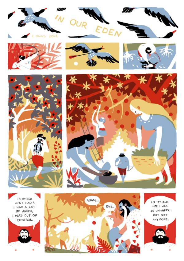 Eleanor David (from NoBrow7)