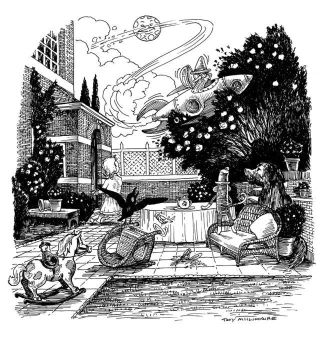 Tony Millionaire - Sock-Monkey Rose Garden