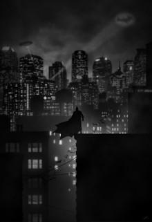 Superhero Noir Posters