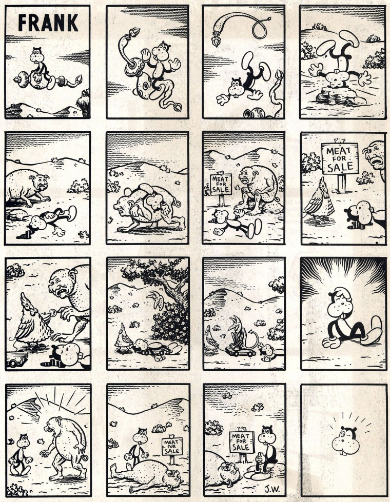 Early Frank - Jim Woodring