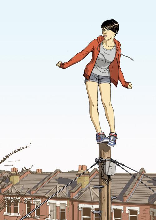 Jamie McKelvie - Balancing Girl