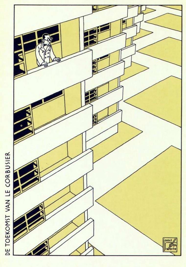 Joost Swarte - Le Corbusier