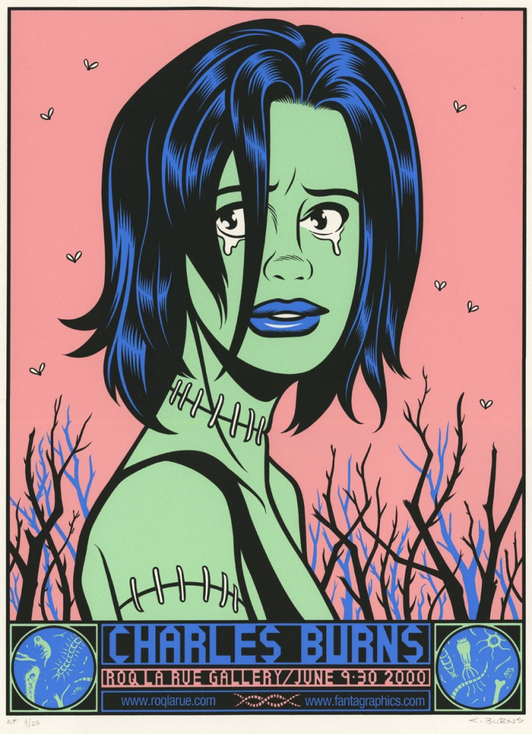 Classic Charles Burns poster image