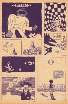 Une planche de Sasaki Maki tirée du récit «Tengoku de miru Yume»