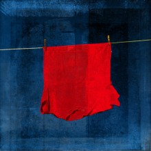 «Blue Rothko Red» par jeloid