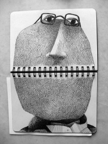Francesco Chiacchio s'amuse avec ce « Sketchbook Drawing »