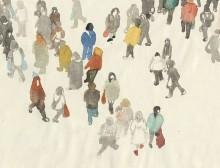 Une foule indistincte par Marie Gordon