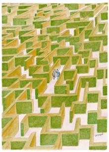 «Labyrinthe» de Sempé