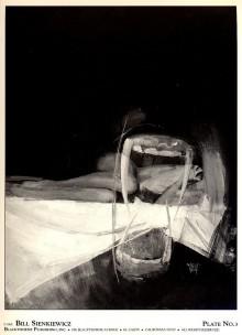 Un extrait des deux portfolios de Vampyres par Bill Sienkiewicz