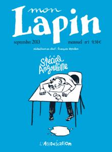 Mon Lapin, nouvelle formule pour le périodique de l'Association, revient ce mois-ci