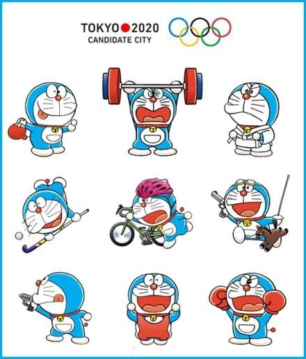 Doraemon, soutien de la candidature de Tôkyô à l ...