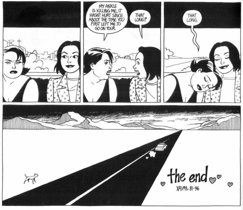 Les comics que vous lisez en ce moment - Page 18 15-Love-and-Rockets-v1-50