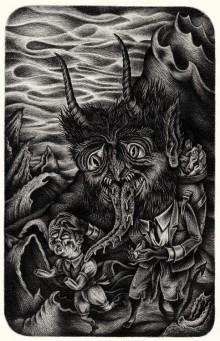 «Krampus», dessin de l'immense Stéphane Blanquet