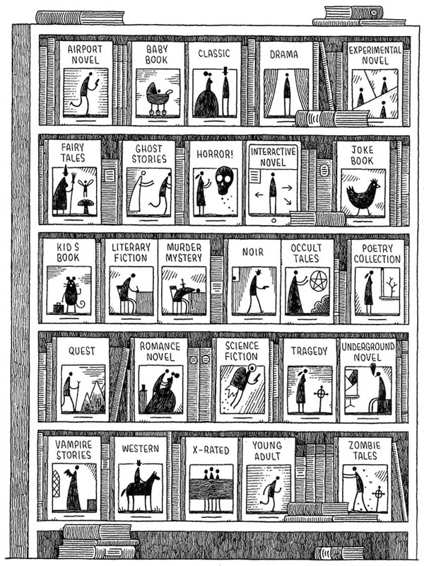 Alphabet of Books