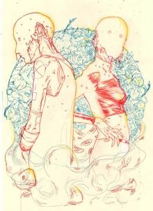 Esquisse pour «Human Nature» par Rafael Pereira