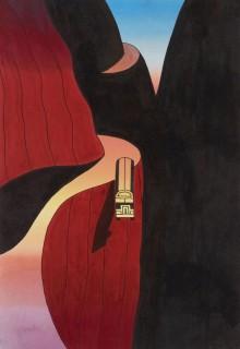 Une illustration de Ken Price