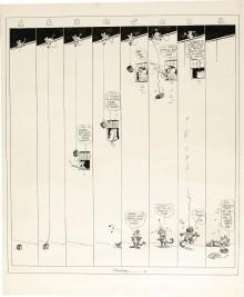 George Herriman est (comme toujours) magique, avec ce Sunday strip de Krazy Kat du 17 septembre 1919