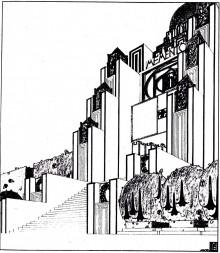 Un projet de monument de guerre par Emanuel Josef Margold (1908)