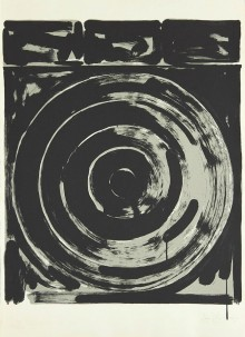 « Target (Version) », composition monochrome de Jasper Johns datant de 1974