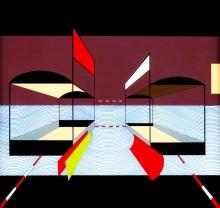 Une composition abstraite de Sten Eklund