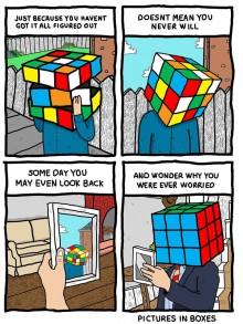 Les états d'âmes cubiques de Pictures in Boxes