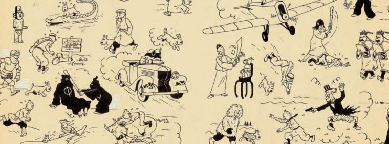 Tintin - bandeau