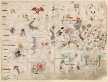 Jacques Prévert – Scénario manuscrit illustré