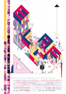 Affiche de l'ELCAF 2014 par Chris Ware