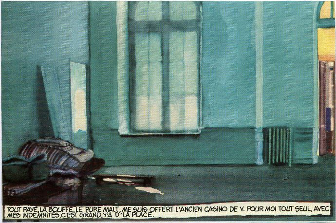 Comme un poulet sans tête, Delcourt, 1994, p.7