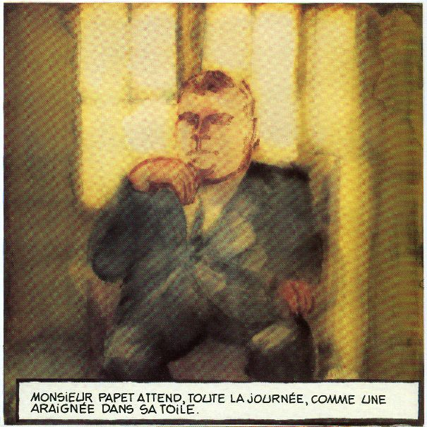 Lettres au maire de V., dans Comme un poulet sans tête, Delcourt, 1994, p.28