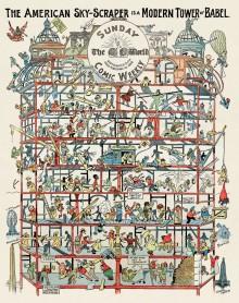 Tour de Babel moderne