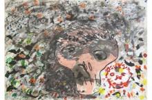 Galerie-Claudine-Papillon-Erik-Dietman-Sitarane-Fontaine-Le-Tangue-et-toi-1995