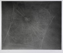 Untitled (Web 4) 2002 by Vija Celmins born 1938