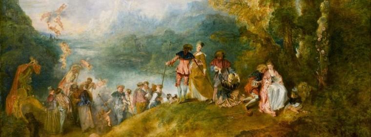 Watteau - Pèlerinage à l'île de Cythère