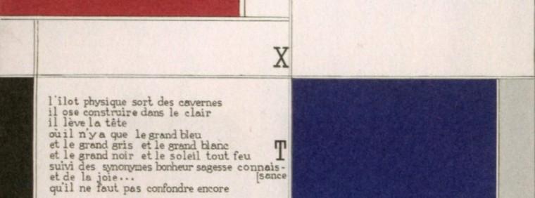 Textuel - Michel Seuphor et Piet Mondrian (1928) - bandeau
