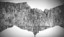 Mur en graphite