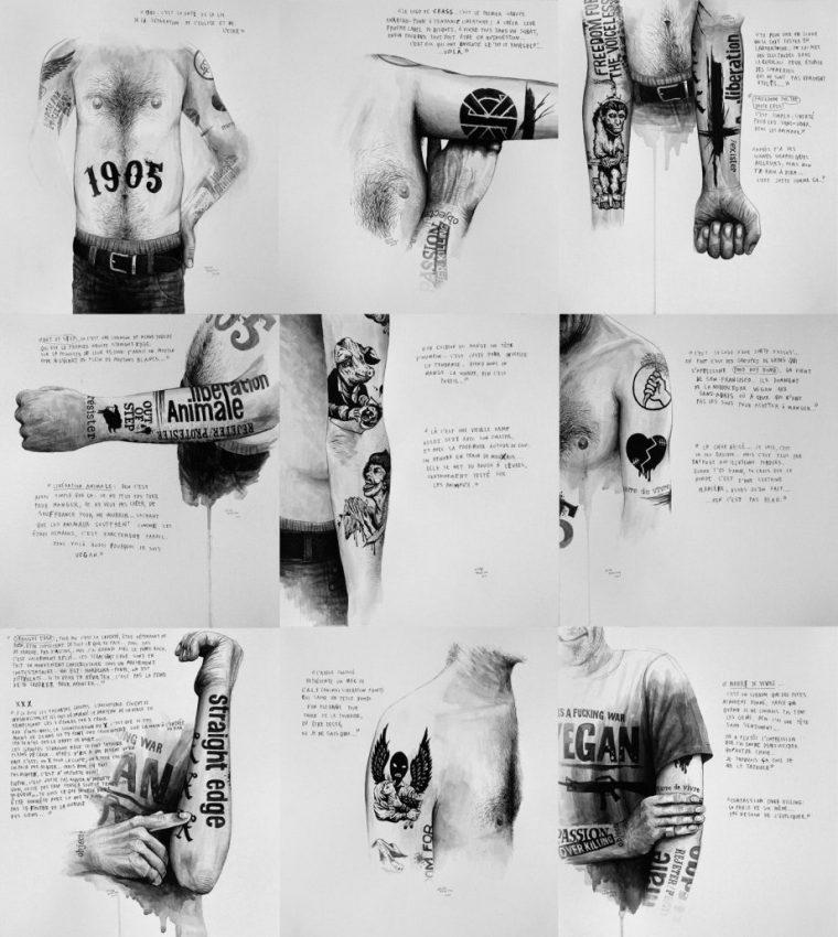 2009-julien-beneyton-marre-de-vivreserie-acrylique-sur-papier9x34x31cm-coll-part_-courtesy-lily-robert_bd-921x1030