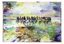 Männer ins Meer / Lemminge