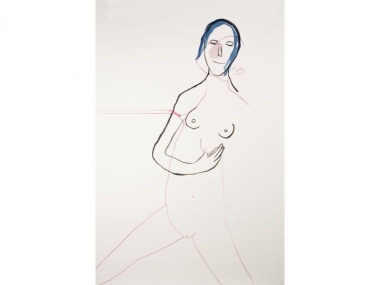 vanessa-beecroft-untitled-2016-aquarelle-sur-papier-1525x1065cm