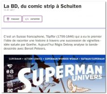 La BD, du comic strip à Schuiten – France Culture