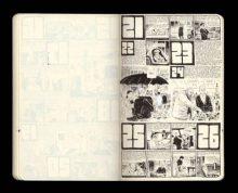 Chris Ware's comic strip diary