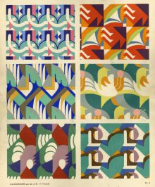 Art abstrait, motifs et dessins 1926