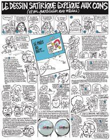 Le dessin satirique expliqué