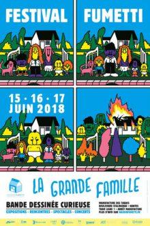 Festival Fumetti 2018: la Grande Famille!