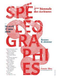 Spéléographies, 2ème biennale des écritures