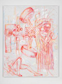 Les dessins en peinture de Jutta Koether