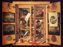 Cabinet de curiosité – 1690