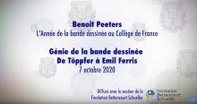 Le génie de la bande dessinée – Collège de France