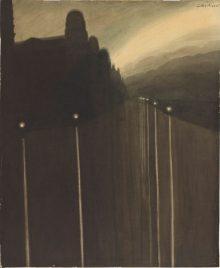Digue la nuit – 1908